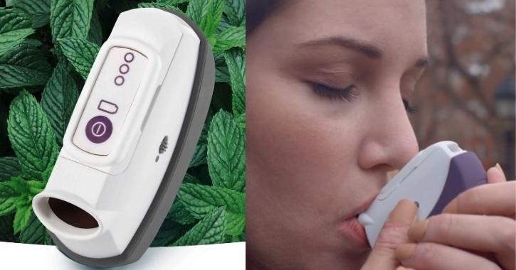 Anxiety attack inhaler