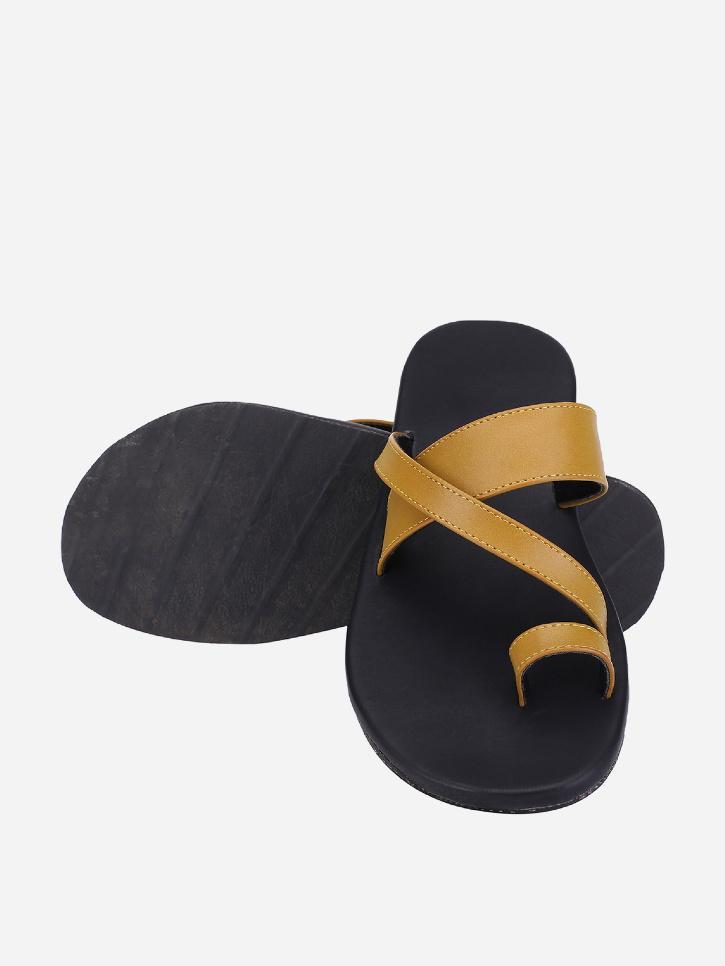 Handcrafted cork sandals for men