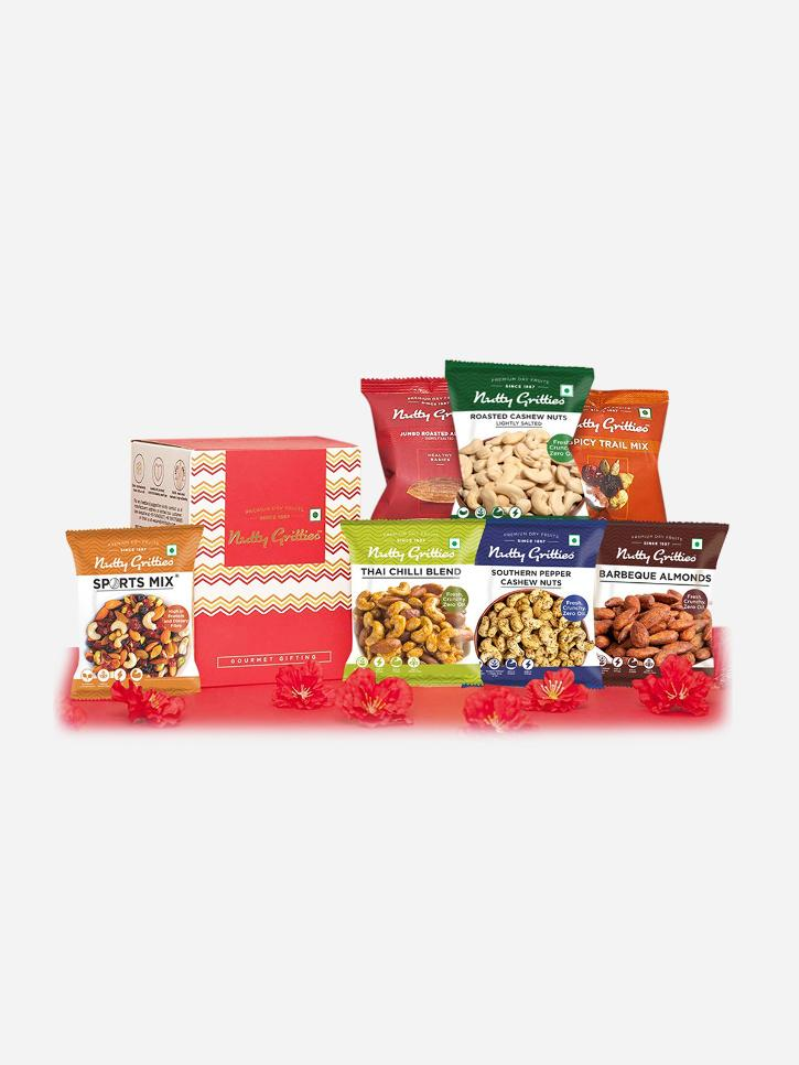 dry fruits snack box