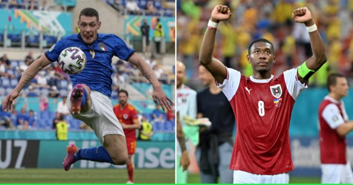 Italy vs Austria Round of 16