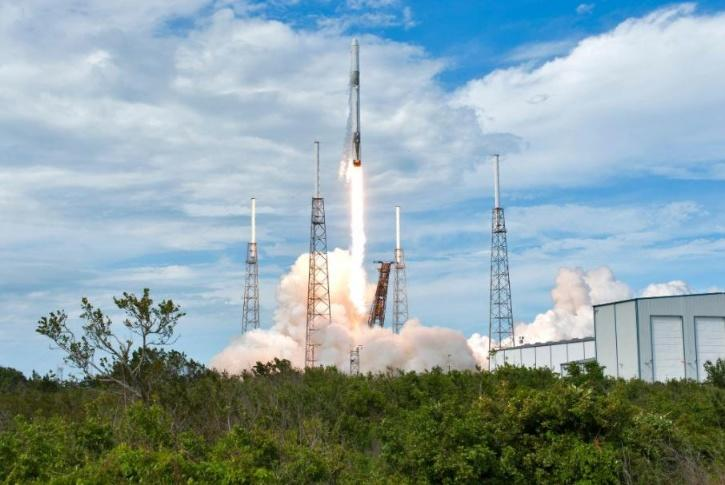 Launch of the SpaceX cargo resupply mission to the International Space Station on May 28, 2021
