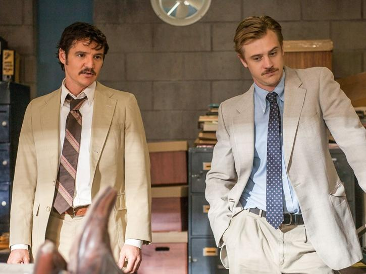Partners in fighting crime: Steve Murphy and Javier Peña in Narcos The DEA agents responsible for taking down Pablo Escobar. Had they not worked together in collaboration, possibly they wouldn