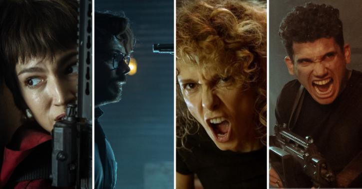 Countdown Has Begun! First Pictures Of Money Heist Season 5 Show Final Battle In Bank Of Spain