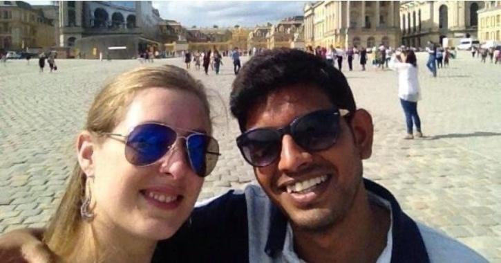Ranjit Singh Raj and his wife