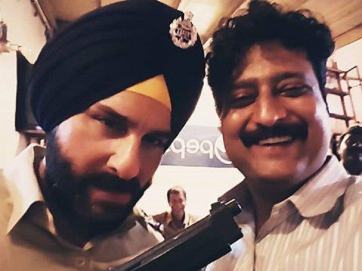 Sartaj Singh and Katekar in Sacred Games