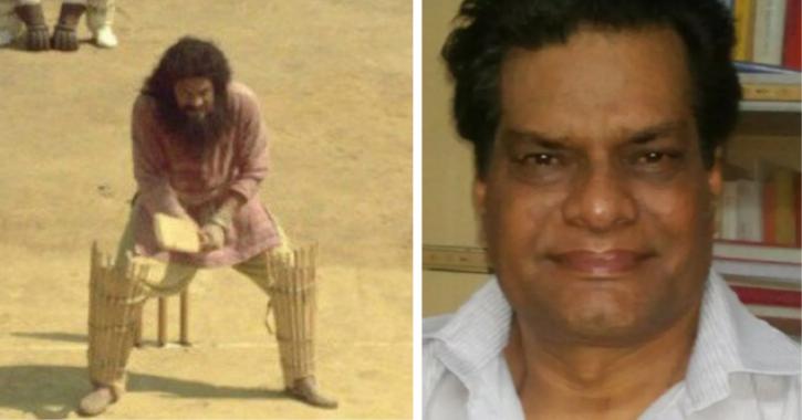 Rajesh Vivek (Guran) in Lagaan.