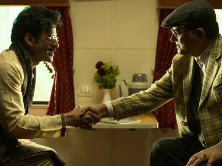 Directed by Abhishek Chaubey and titled Hungama Hai Kyon Barpa, Ray stars Manoj Bajpayee and Gajraj Rao.