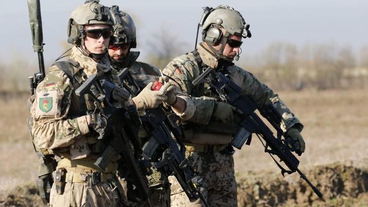 German troops in Afghanistan
