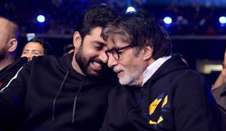 Amitabh Bachchan and Abhishek Bachchan / Twitter
