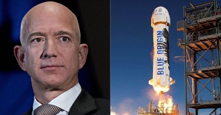 Jeff Bezos Blue Origin Fly Into Space