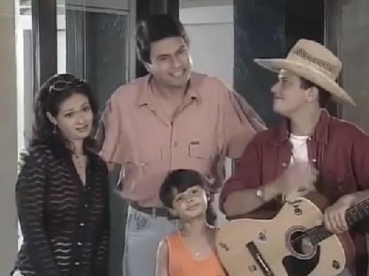 Kanwaljit Singh in Family No 1.