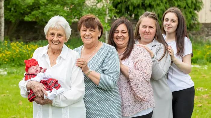 six generations