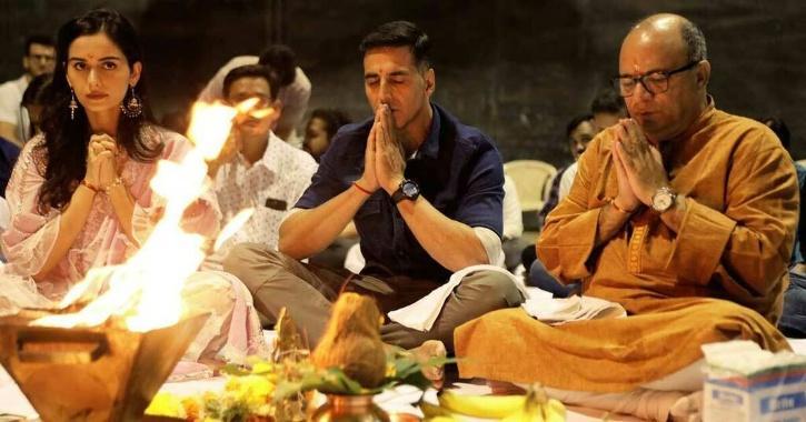 Akshay Kumar and Manushi Chillar in Prithviraj