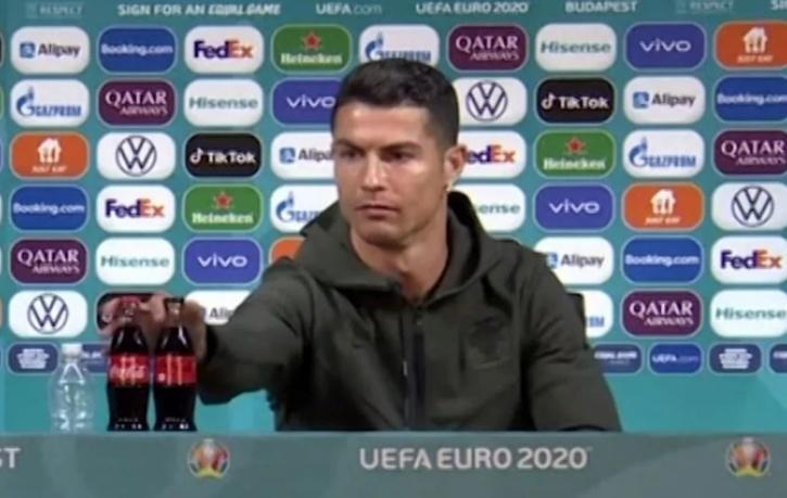 Cristiano Ronaldo Coco Cola