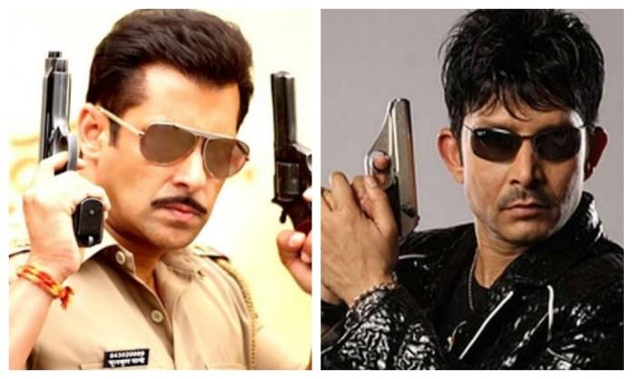 Salman Khan and KRK / Indiatimes
