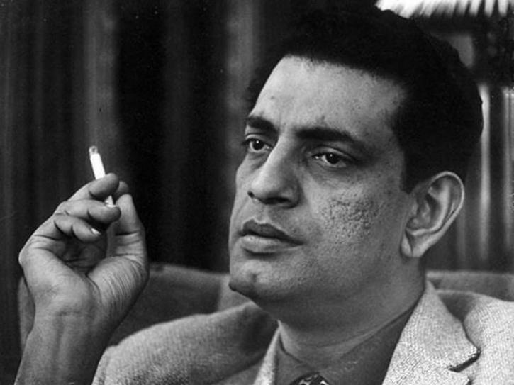 A photo of Satyajit Ray