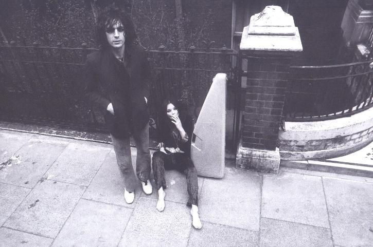 Evelyn 'Iggy' Rose and Syd Barrett