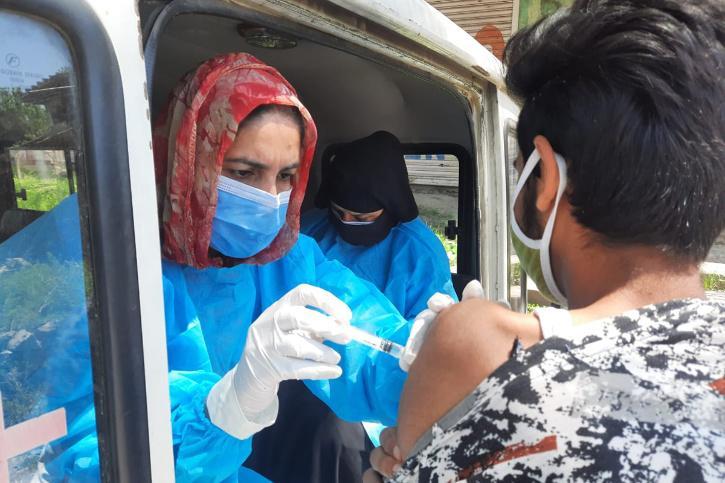 Vaccine kashmir