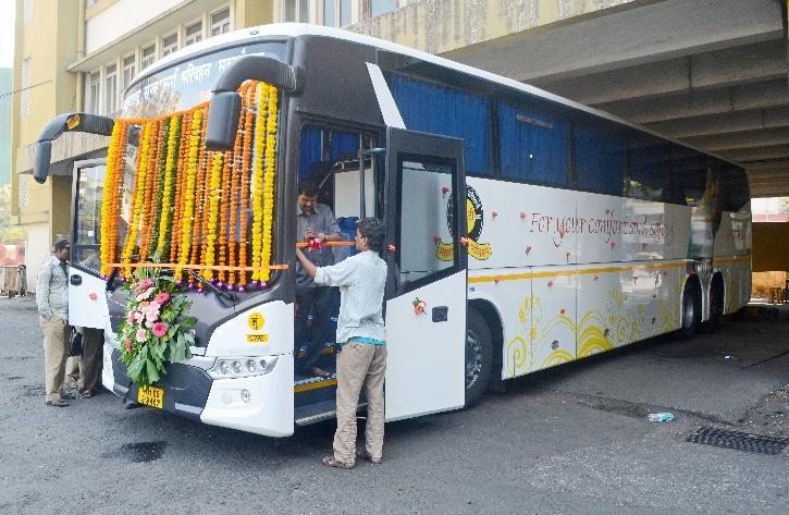 Scania Bus of KSRTC