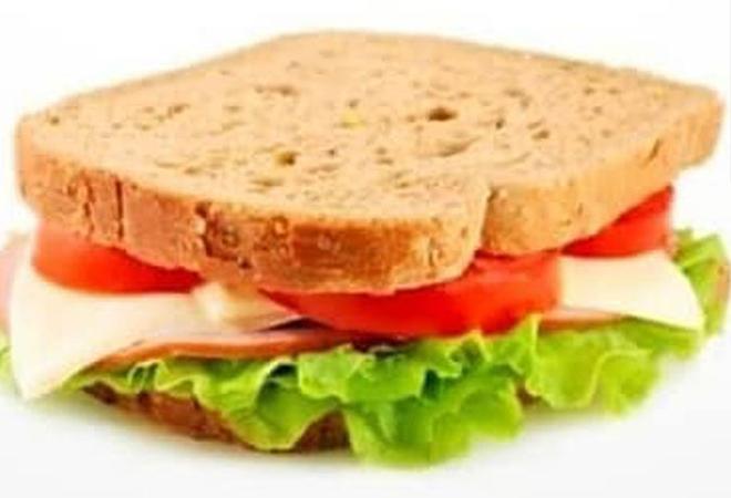A sandwich turn into beautiful mansion