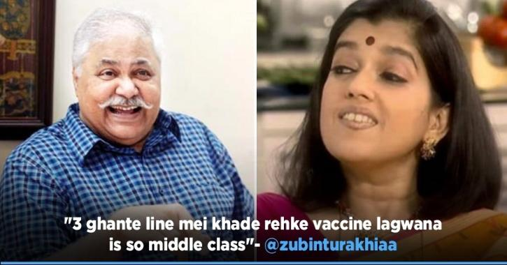 Satish Shah Waits In Queue To Get COVID-19 Vaccine & Now Everyone