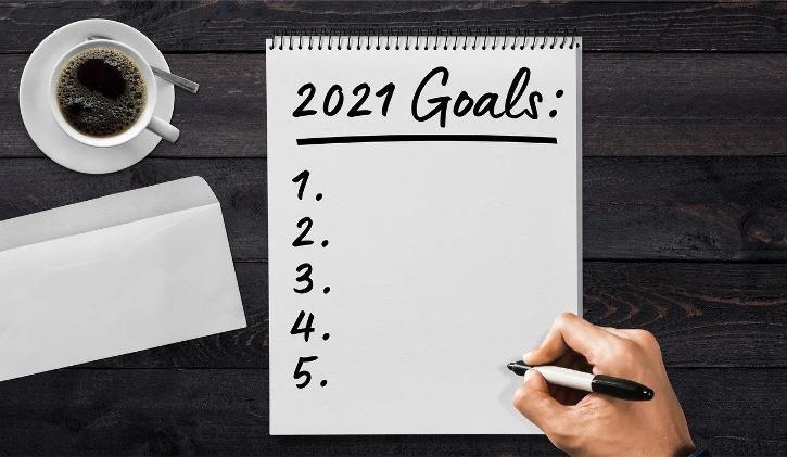 2021 goals resolutions