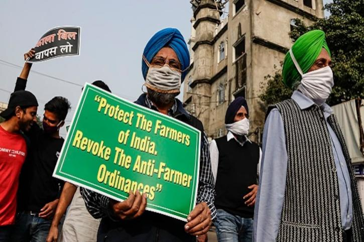 farmers protest india