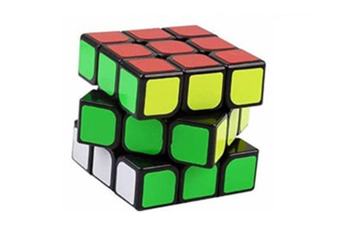 Can you imagine the Rubik's cube turning into a beautiful Rubik's cube house?