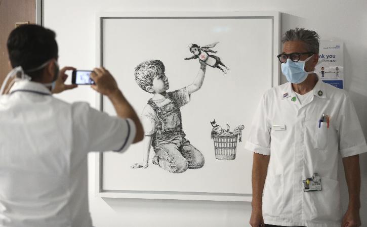 Banksy artwork Game Changer