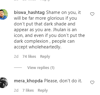 People Are Shaming Aahana Kumra For Painting Her Face Dark As She Pays Tribute To Cricketer Jhulan Goswani