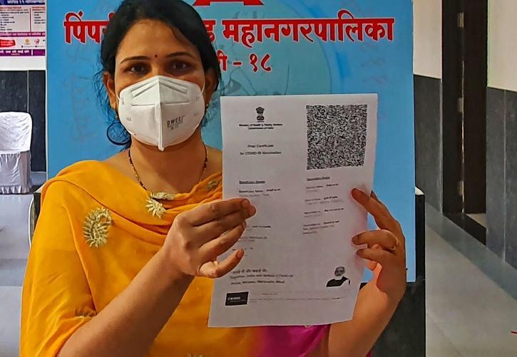vaccine certificate India