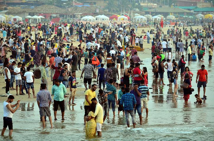 Goa Tourists