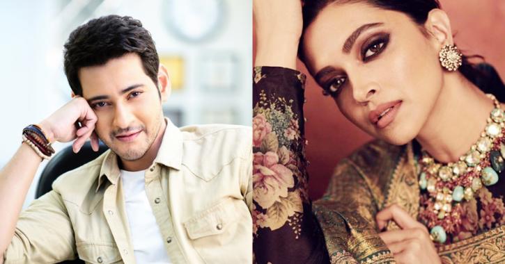 Mahesh Babu and Deepika Padukone / Indiatimes