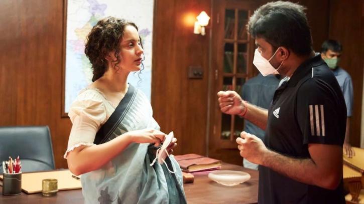 Kangana Ranaut with Director Vijay / Kangana Ranaut Instagram