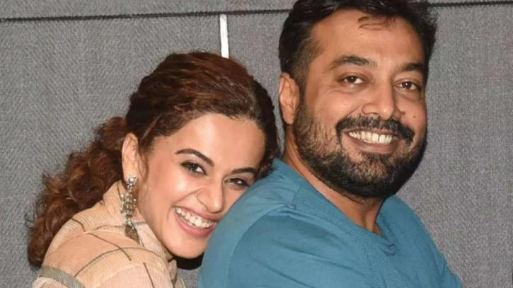 Taapsee Pannu and Anurag Kashyap / Twitter
