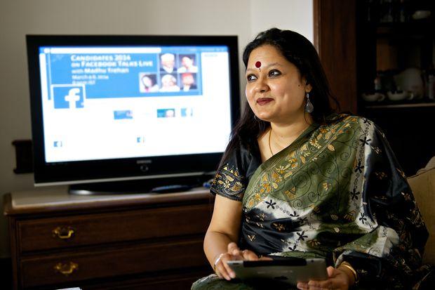 Ankhi Das, former Facebook public-policy executive in India