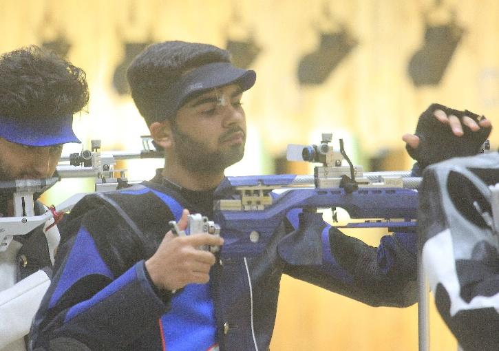 arjun-babuta shooter world cup
