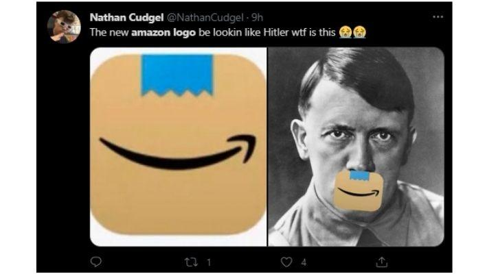 Amazon Changes New Logo After People Said It Looked Like Hitler