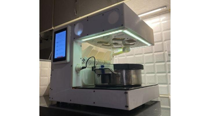 nymble julia food cooking robot