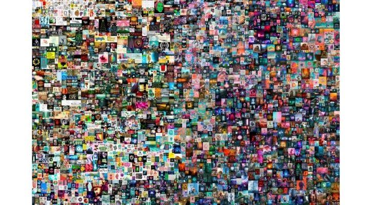 beeple digital artwork everydays the first 5000 days
