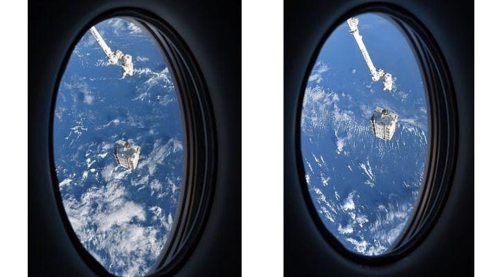 international space station batteries