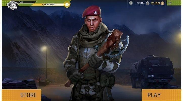 FAU-G Mobile Game