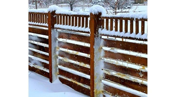 mexico dust colorado brown snow