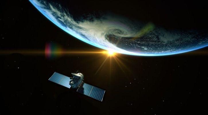 quantum satellite communication