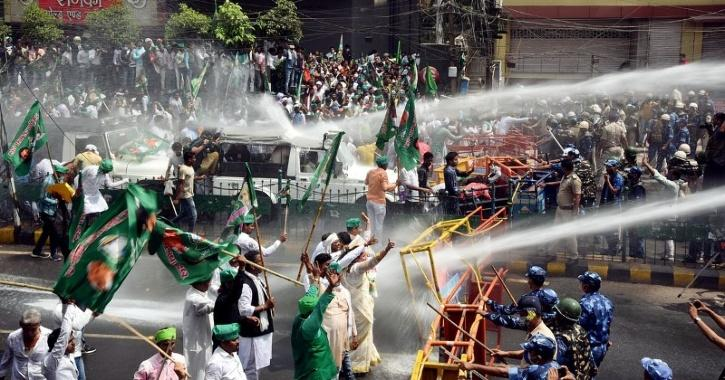 Bihar police bill protest