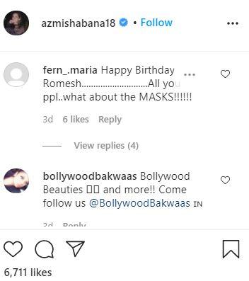 Shabana Azmi / Instagram