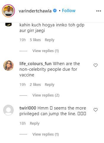 Varinder Chawla / Instagram