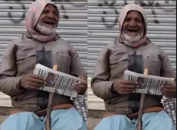 Newspaper Hawker
