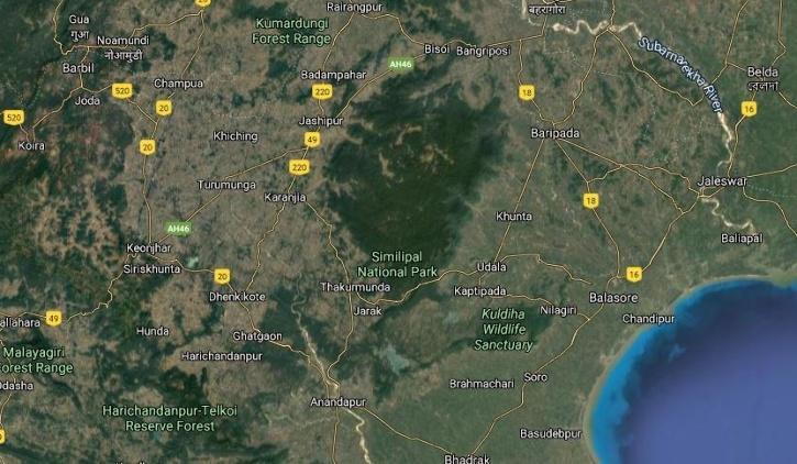 Similipal Wildlife Sanctuary