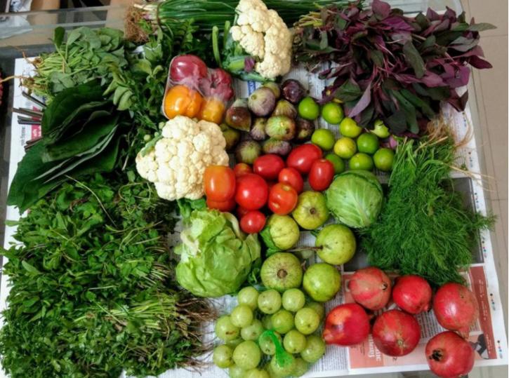 Lowest Carbon Foorprint for indian food